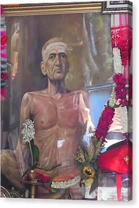 Maha Samadhi Day Canvas Print by Agnieszka Ledwon