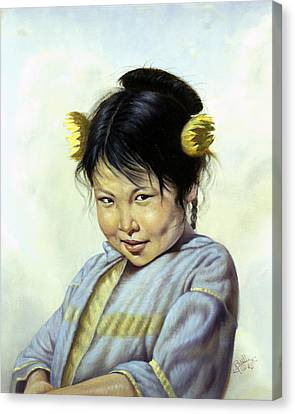 Mai Li Canvas Print by Gregory Perillo