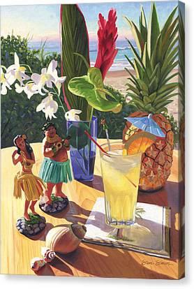 Mai Tai Canvas Print by Steve Simon