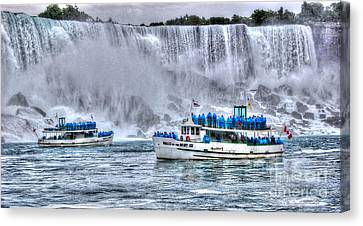 Maid Of The Mist Canvas Print