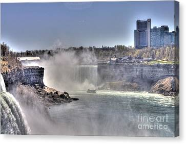 Canvas Print featuring the photograph Maid Of The Mist by Jim Lepard