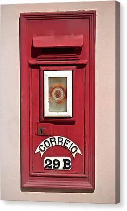 Mail Box 29b Canvas Print by David Letts
