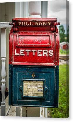 Mail Box Canvas Print by Paul Freidlund