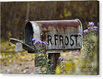 Mail For R Frost - D005926 Canvas Print by Daniel Dempster