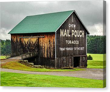 Mail Pouch Tobacco Barn Canvas Print