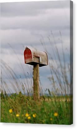 Mailbox Canvas Print