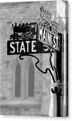 Canvas Print featuring the photograph Main St IIi by Courtney Webster