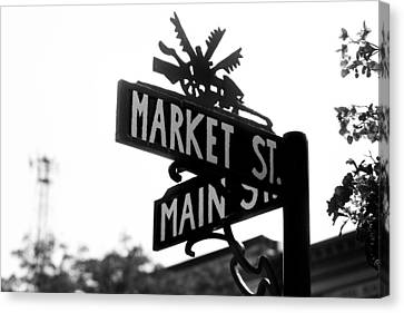 Canvas Print featuring the photograph Main St Iv by Courtney Webster