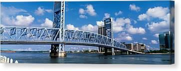 Main Street Bridge, Jacksonville Canvas Print by Panoramic Images