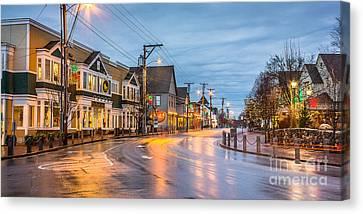 Main Street Freeport Canvas Print