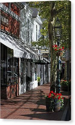 Main Street In Edgartown Canvas Print