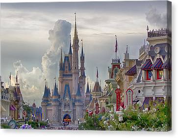 Main Street Usa Canvas Print