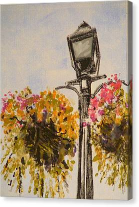 Main Street Canvas Print by Valerie Lynch