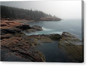 Maine Acadia National Park Canvas Print by Juergen Roth