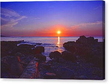 Maine Coast Sunrise Canvas Print