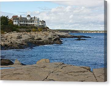 Maine Coastline Canvas Print by Gail Maloney