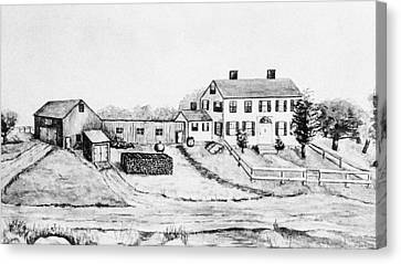 Maine Farm, 1897 Canvas Print by Granger