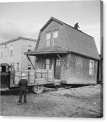 Jack Kent Canvas Print - Maine Moving, 1940 by Granger