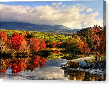 Maine's Beauty Canvas Print by Sharon Batdorf