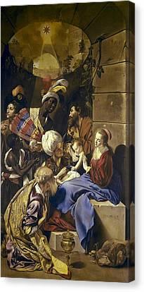 Maino, Juan Bautista 1578-1649 Canvas Print by Everett