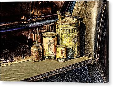 Canvas Print featuring the photograph Maintenance by Jay Stockhaus