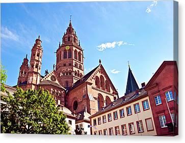 Mainz, Germany, Saint Martin's Cathedral Canvas Print