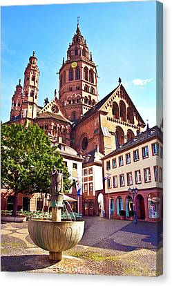 Mainz, Germany, Saint Martin's Canvas Print