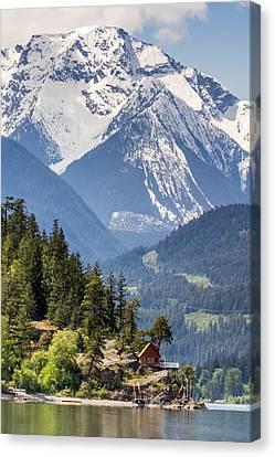 Majestic Anderson Lake Landscape Canvas Print by Pierre Leclerc Photography