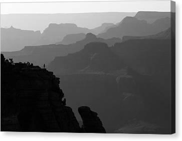 Majestic Grand Canyon Canvas Print by Maico Presente