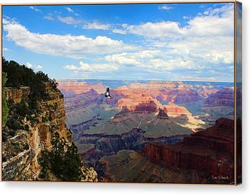 Tom Schmidt Canvas Print - Majestic Grand Canyon by Tom Schmidt