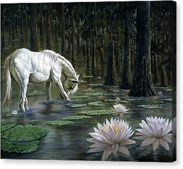 Majestic Canvas Print by Gregory Perillo