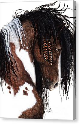 Majestic Gypsy Horse  Canvas Print by AmyLyn Bihrle