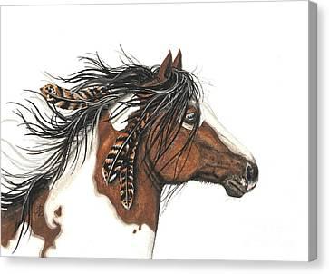 Spirit Horse Canvas Print - Majestic Horse Series 32 by AmyLyn Bihrle