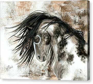 Majestic Horse Series 88 Canvas Print by AmyLyn Bihrle