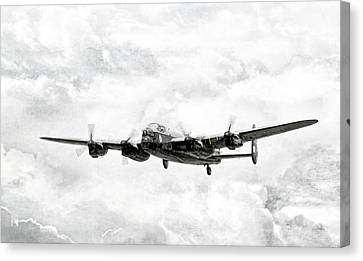 Majestic Lanc Canvas Print by Peter Chilelli