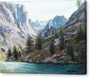 Majestic Montana Canvas Print