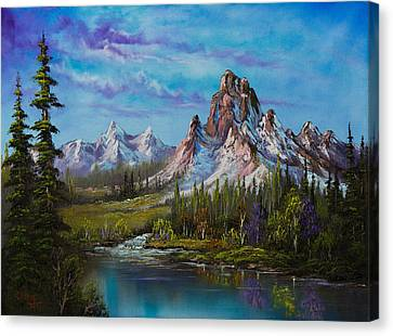 Majestic Morning Canvas Print by C Steele