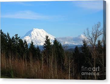 Majestic Mount Rainier Canvas Print