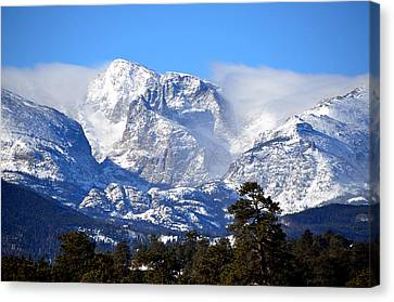 Majestic Mountains Canvas Print by Tranquil Light  Photography