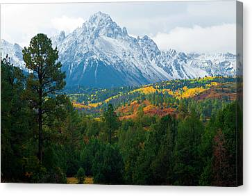 Majestic Mt. Sneffels Canvas Print