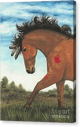 Majestic Mustang 36 Canvas Print