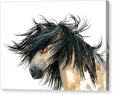 Spirit Horse Canvas Print - Majestic Pinto Horse by AmyLyn Bihrle