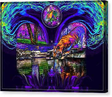 Majestic Pond Canvas Print