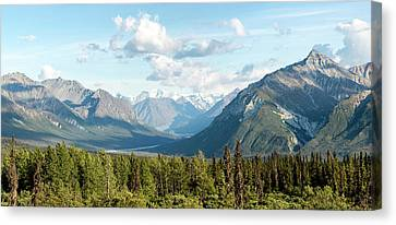 Matanuska Canvas Print - Majestic Valley As It Matanuska-susitna by Panoramic Images