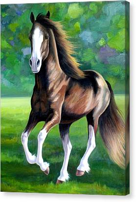 Majestic Canvas Print by Vivien Rhyan