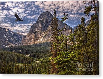 Majesty Mount Canvas Print by The Stone Age