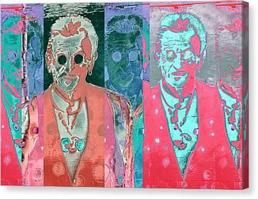 Major Cool Canvas Print by Carol Leigh