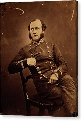 Ashe Canvas Print - Major General Charles Ashe Sic Windham by Quint Lox