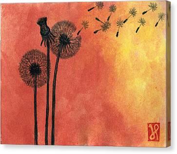 Make A Wish Canvas Print by Jamie Seul