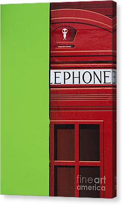 Shop Front Canvas Print - Make New Friends by Tim Gainey